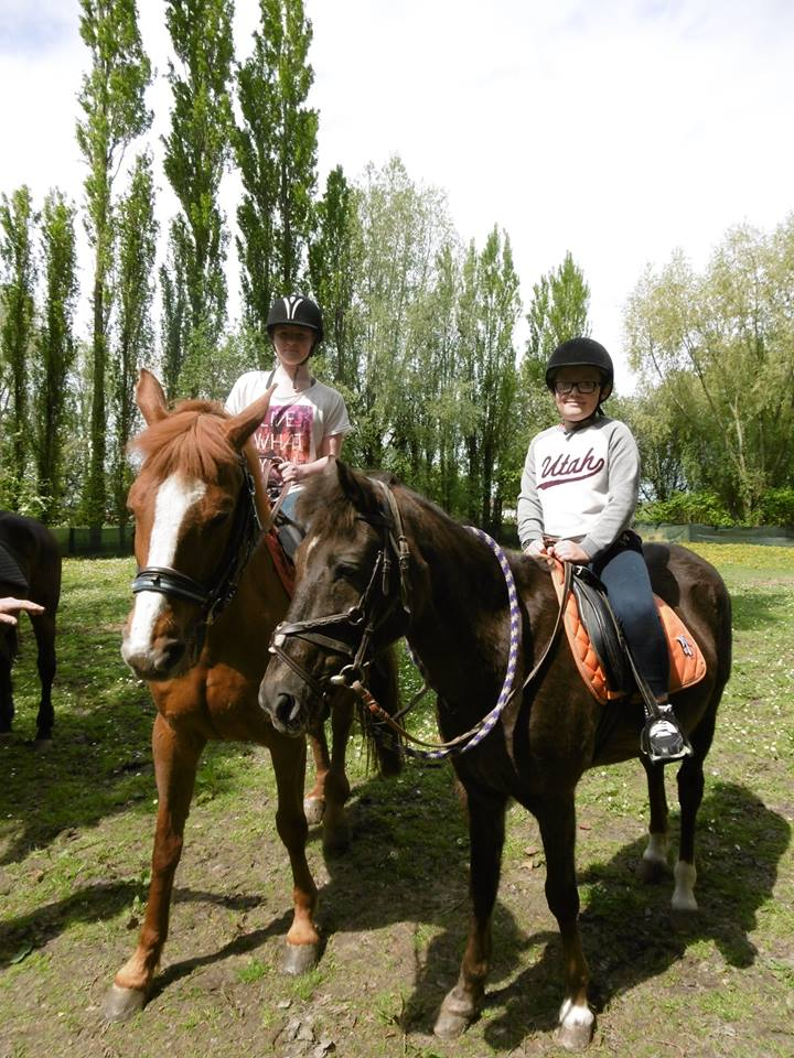 horse riding initiation
